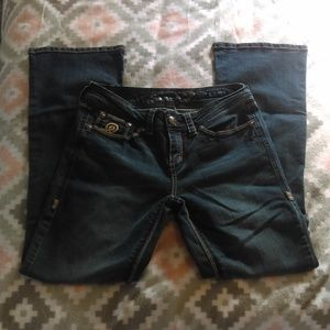 Seven7 Size 8 Bootcut Jeans